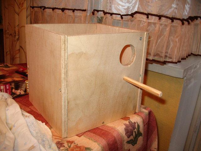 комбинированный гнездовой домик